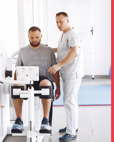 العلاج الفيزيائي وإعادة التأهيل